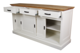 Dressoir Provence - naturel eiken/wit_