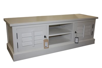 TV-dressoir Riviera - white wash